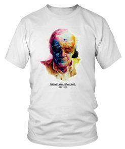 Thank You Stan Lee 1922 2018 T Shirtround Neck T Shirt Unisex 1.jpg