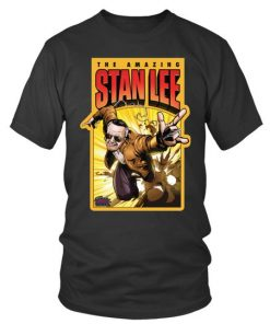 The Amazing Stan Lee T Shirtround Neck T Shirt Unisex 1.jpg