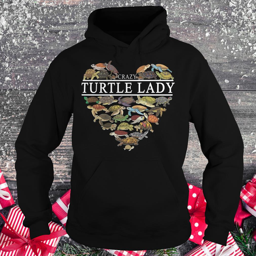 The best Crazy Turtle lady Turtle Aholic shirt