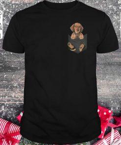 Top Dachshund In Tiny Pocket Shirt Classic Guys Unisex Tee 1.jpg