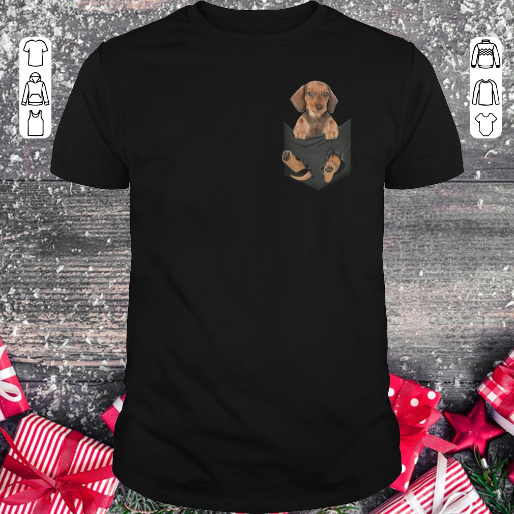 Top Dachshund In Tiny Pocket Shirt Classic Guys Unisex Tee 1.jpg