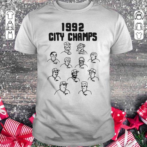 Top The Simpsons 1992 City Champs Homer Shirt Classic Guys Unisex Tee 1.jpg