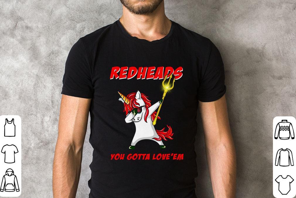 Aquaman Unicorn Dabbing Redheads You Gotta Love Em Shirt 2 1.jpg