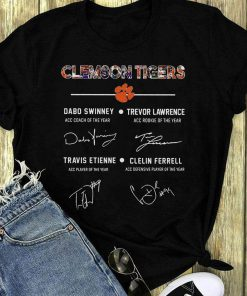 Awesome Clemson Tigers Signature Dabo Swinney Trevor Lawrence Travis Etienne Clelin Ferrel Shirt 1 1.jpg