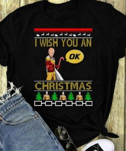 Awesome Saitama I Wish You An Ok Christmas Shirt 1 1.jpg