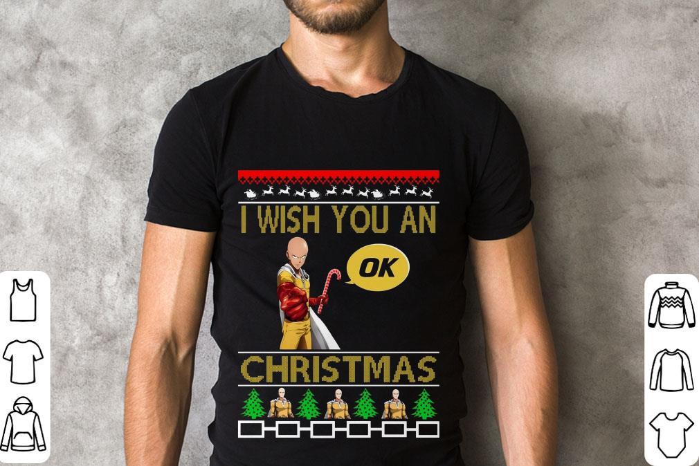 Awesome Saitama I Wish You An Ok Christmas Shirt 2 1.jpg