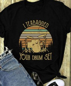 Awesome Sunset I Teabagged Your Drum Set Shirt 1 1.jpg