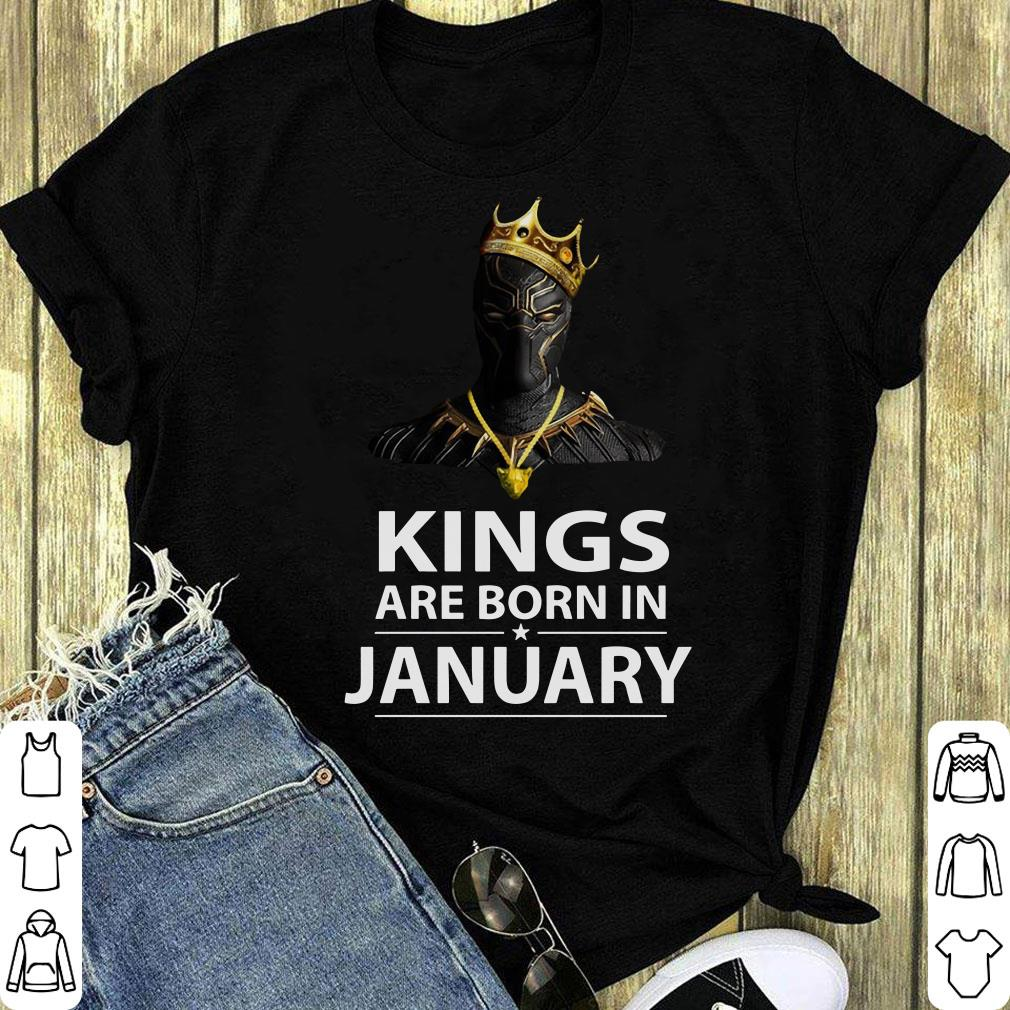 Black Panther Kings Are Born In January Shirt 1 1.jpg