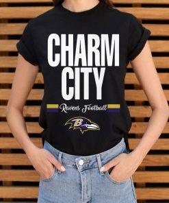 Charm City Baltimore Ravens Football Shirt 3 1.jpg