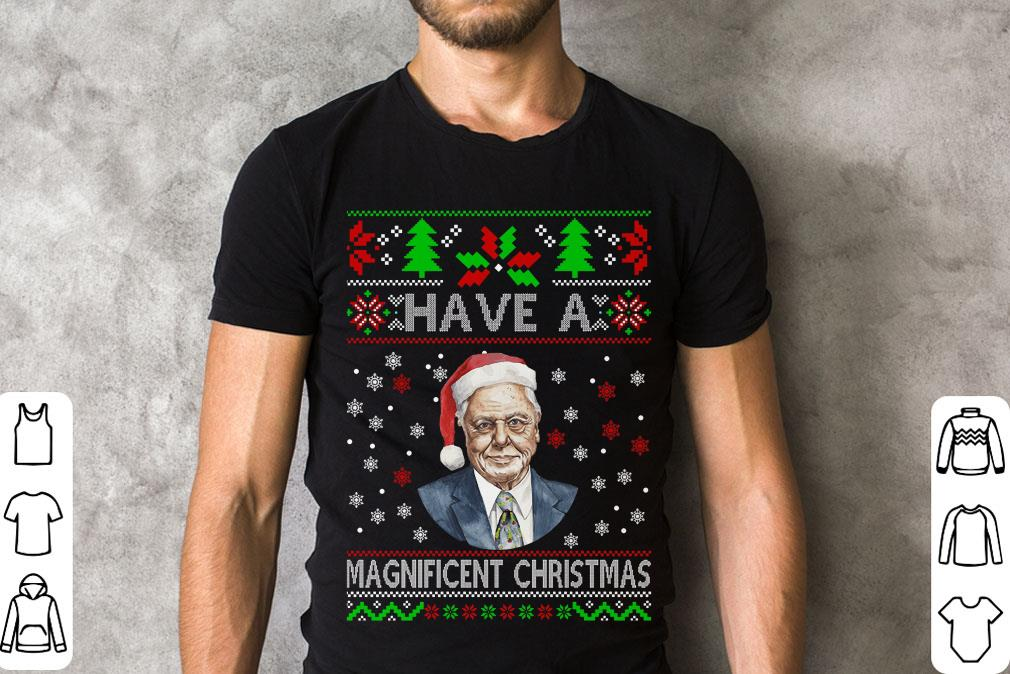 Have A Magnificent Christmas David Attenborough Shirt 2 1.jpg