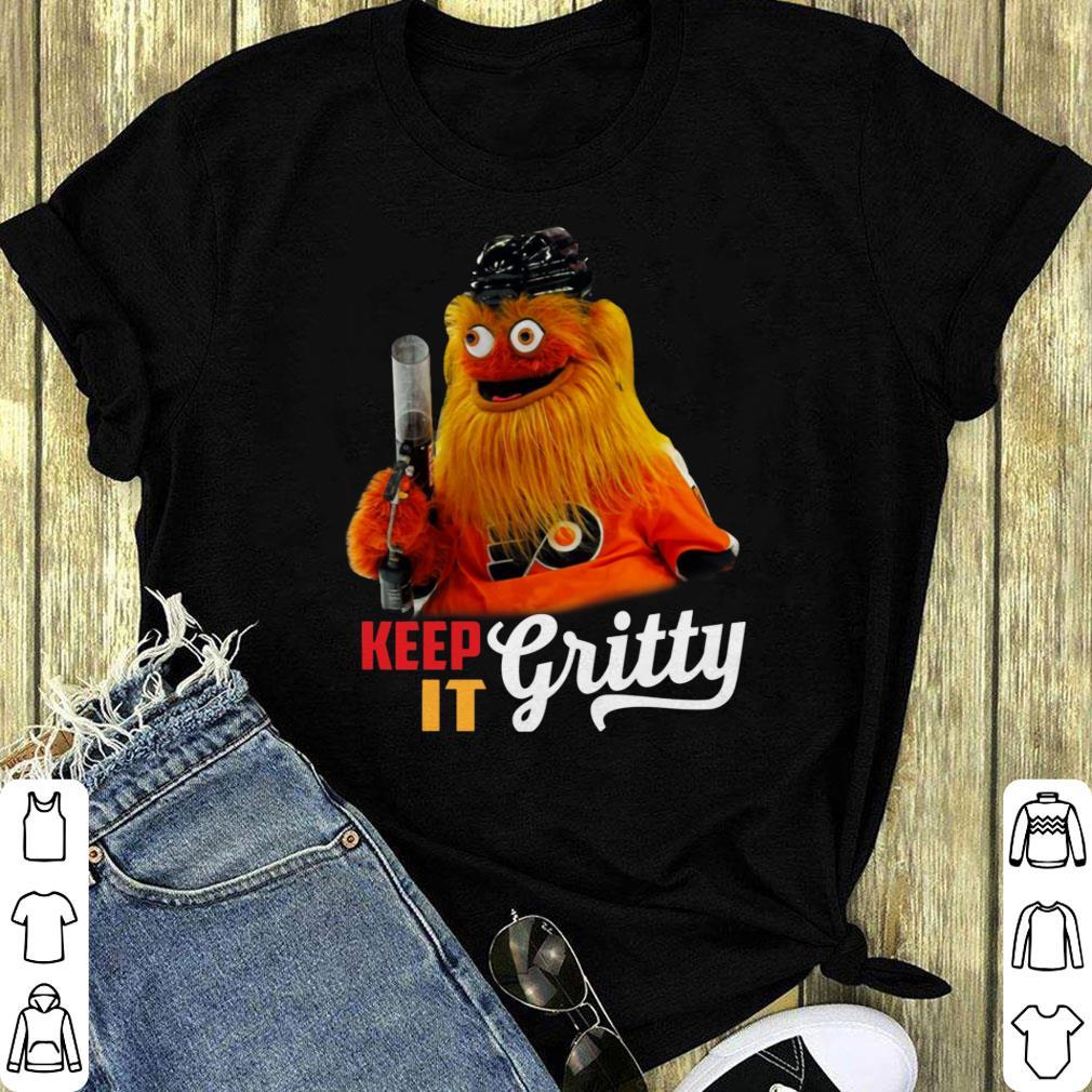 Hockey Mascot It S Always Gritty In Philadelphia Shirt 1 1.jpg