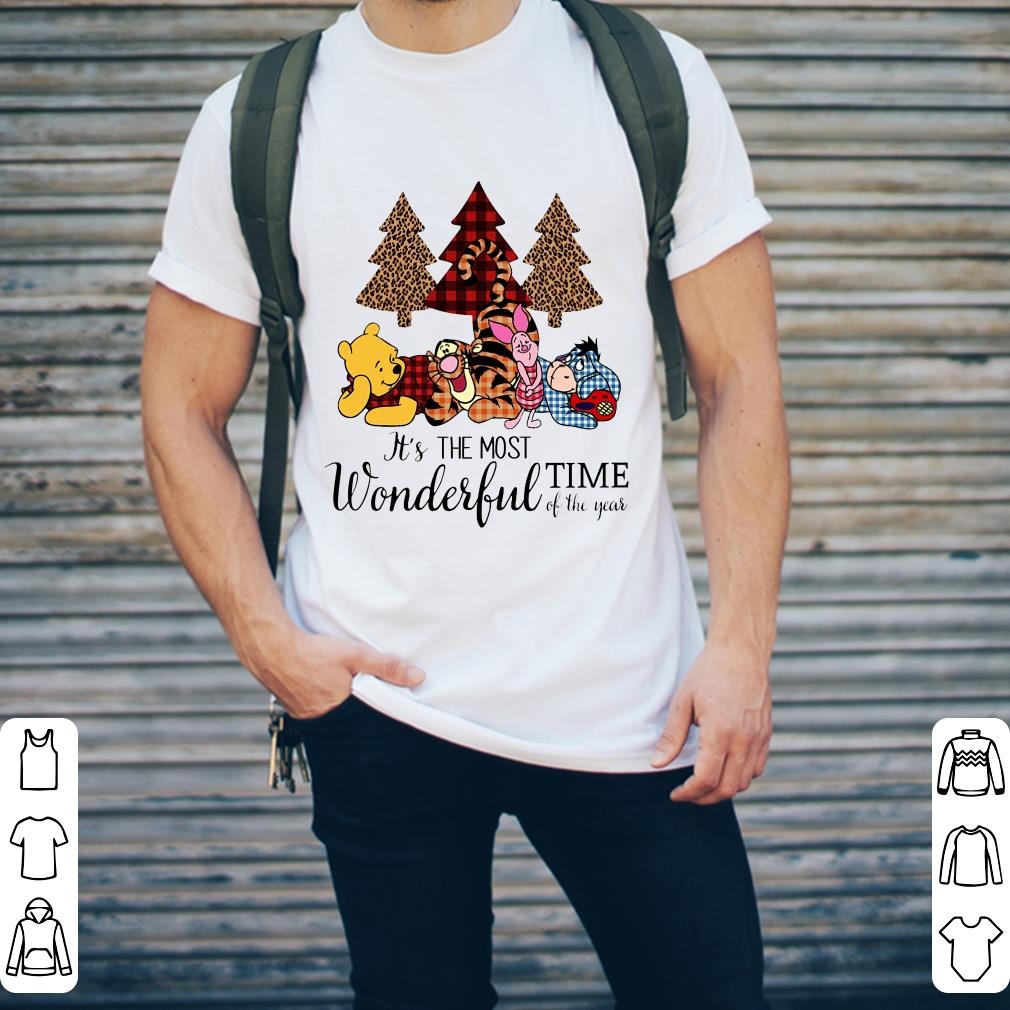 Hot Disney S Pooh And Friends It S The Most Wonderful Time Of The Year Shirt 2 1.jpg