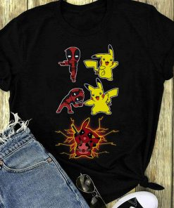 Nice Deadpool Fusion Pikachu Become Pikapool Shirt 1 1.jpg