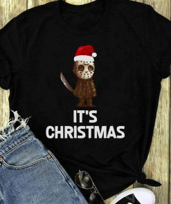 Nice Jason Voorhees It S Horror Christmas Shirt 1 1.jpg