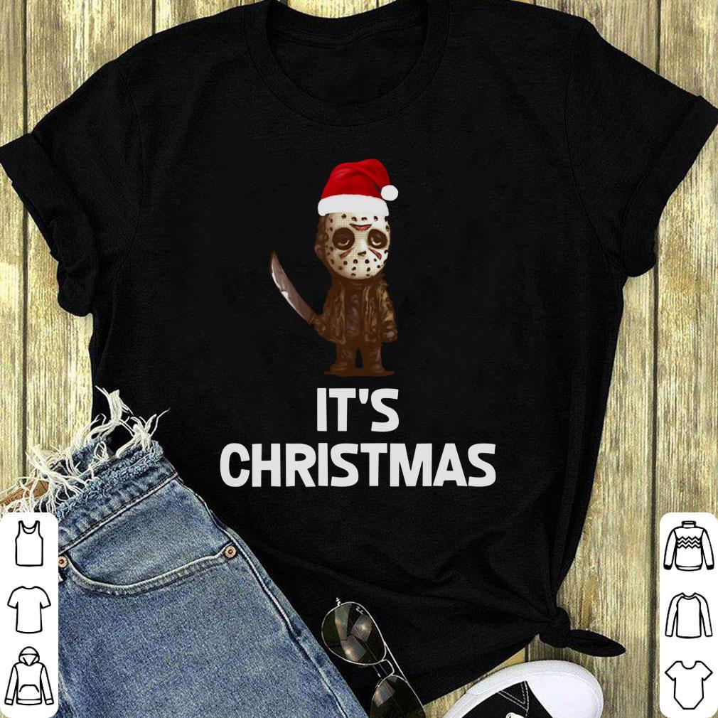 Nice Jason Voorhees It S Horror Christmas Shirt 1 1.jpg