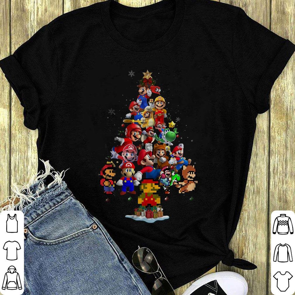 Nice Super Mario Christmas Tree Shirt 1 1.jpg
