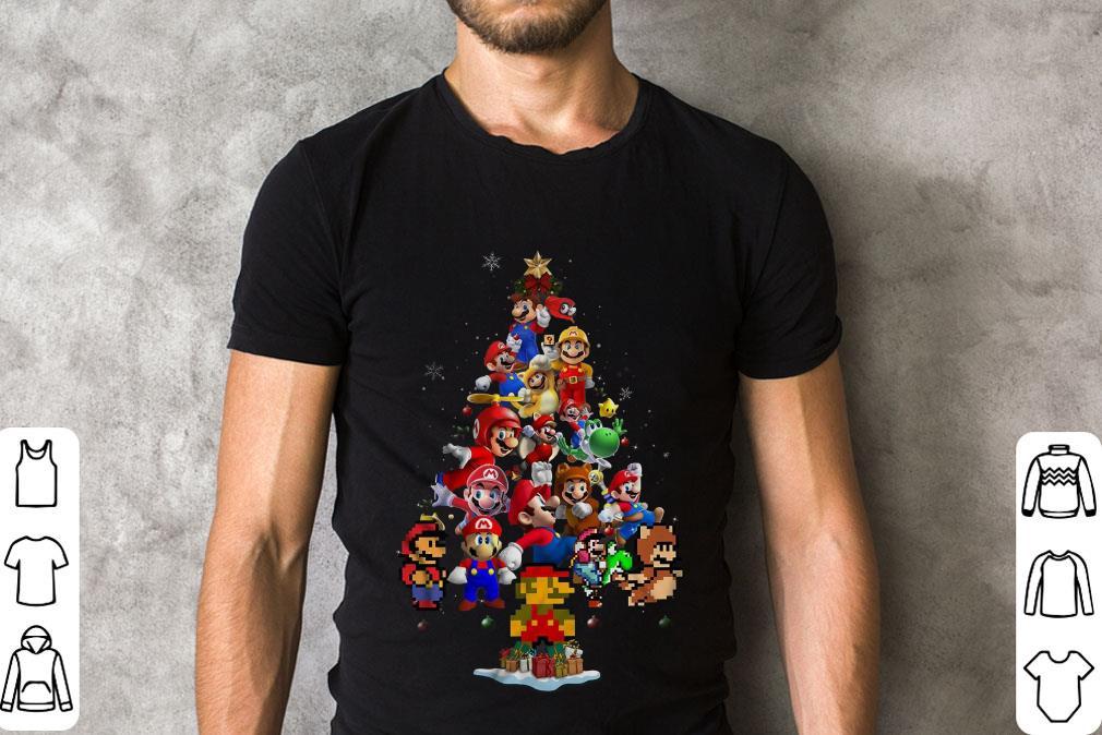 Nice Super Mario Christmas Tree Shirt 2 1.jpg