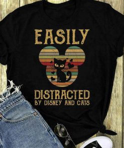 Official Sunset Easily Distracted By Disney And Cats Shirt 1 1.jpg
