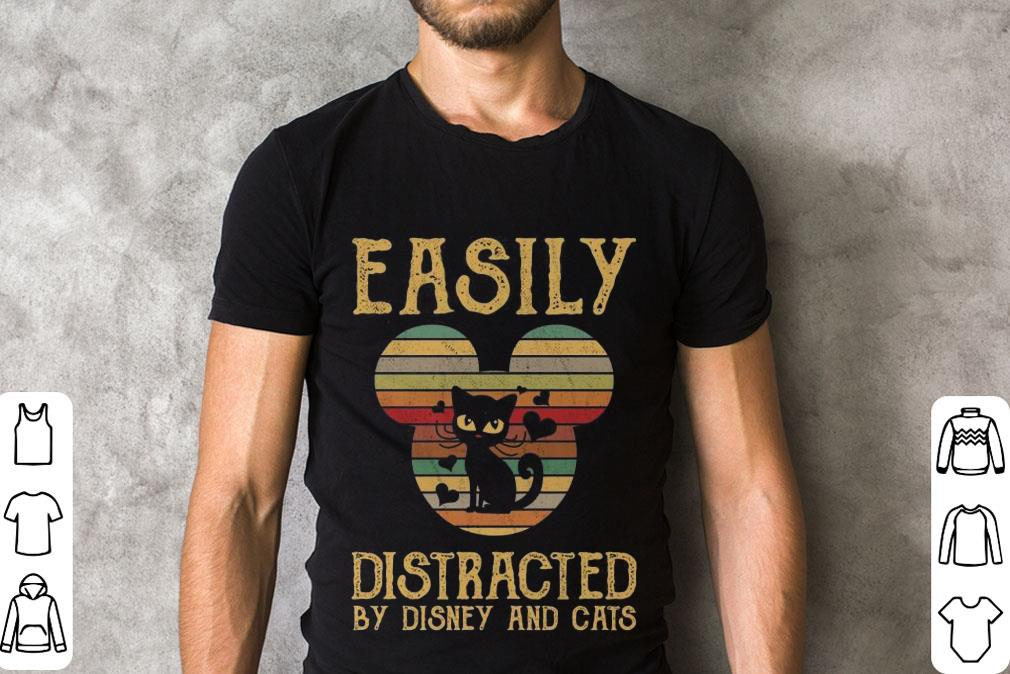 Official Sunset Easily Distracted By Disney And Cats Shirt 2 1.jpg