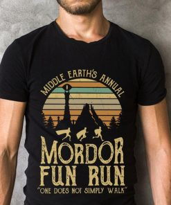 Original Sunset Middle Earth S Annual Mordor Fun Run One Does Not Simply Walk Shirt 2 1.jpg