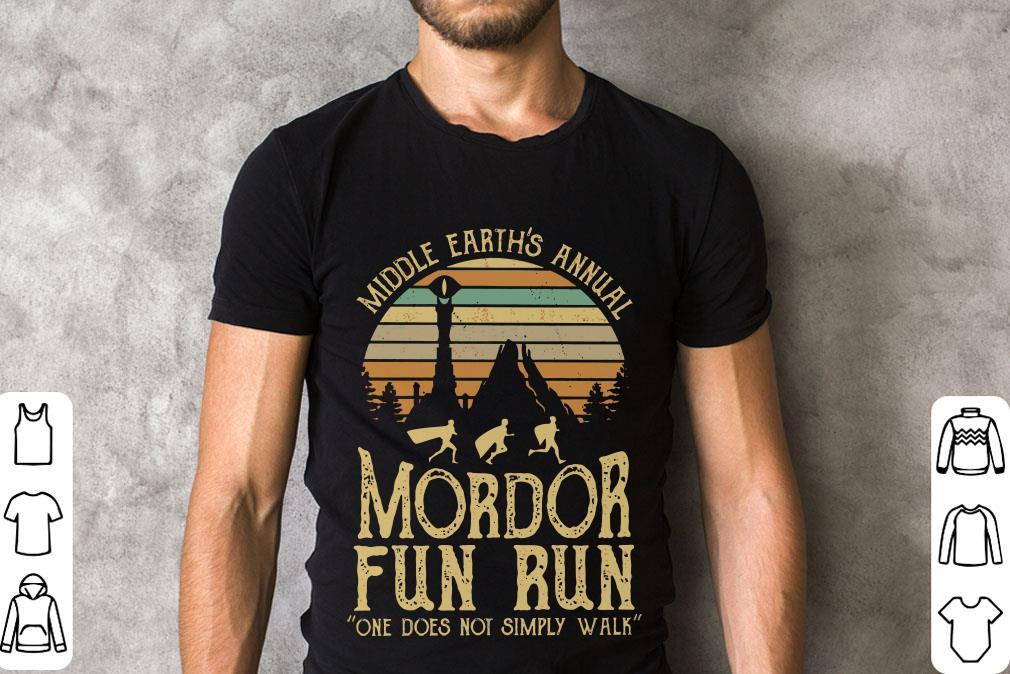 Original Sunset Middle Earth S Annual Mordor Fun Run One Does Not Simply Walk Shirt 2 1.jpg
