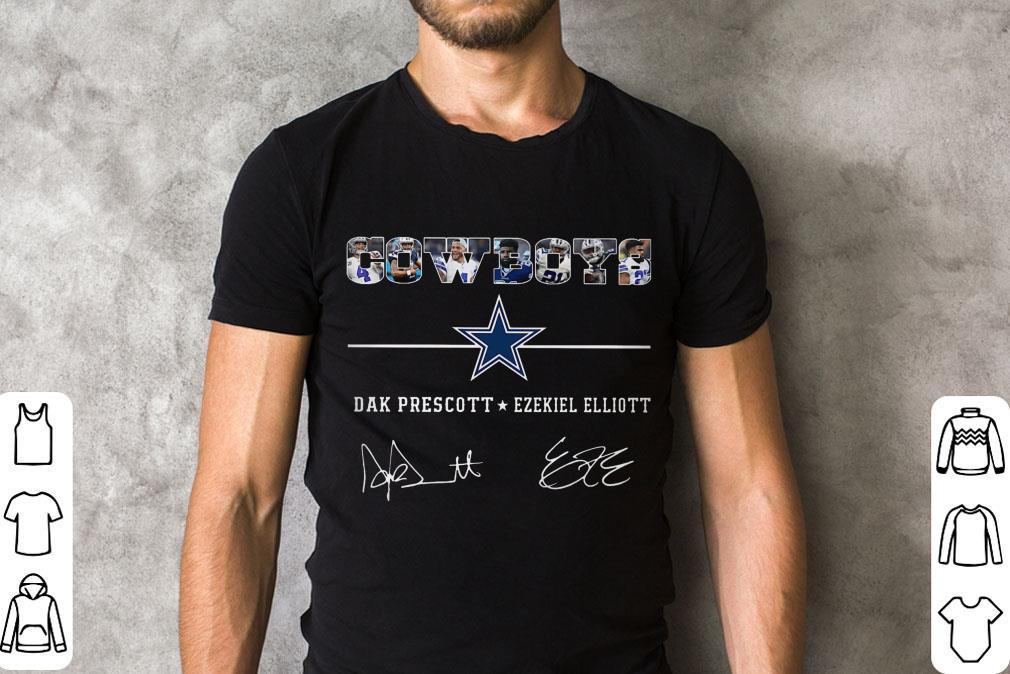 Premium Cowboys Dak Prescott Ezekiel Elliott Signature Shirt 2 1.jpg