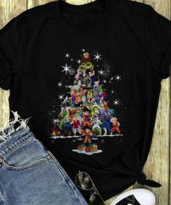 Premium Dragon Ball Characters Christmas Tree Shirt 1 1.jpg