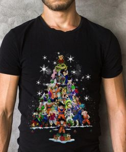 Premium Dragon Ball Characters Christmas Tree Shirt 2 1.jpg