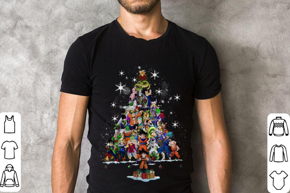 Premium Dragon Ball Characters Christmas Tree Shirt 2 1.jpg