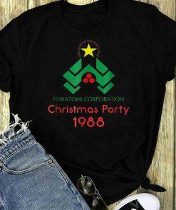 Pretty Nakatomi Corporation Christmas Party 1988 Shirt 1 1.jpg