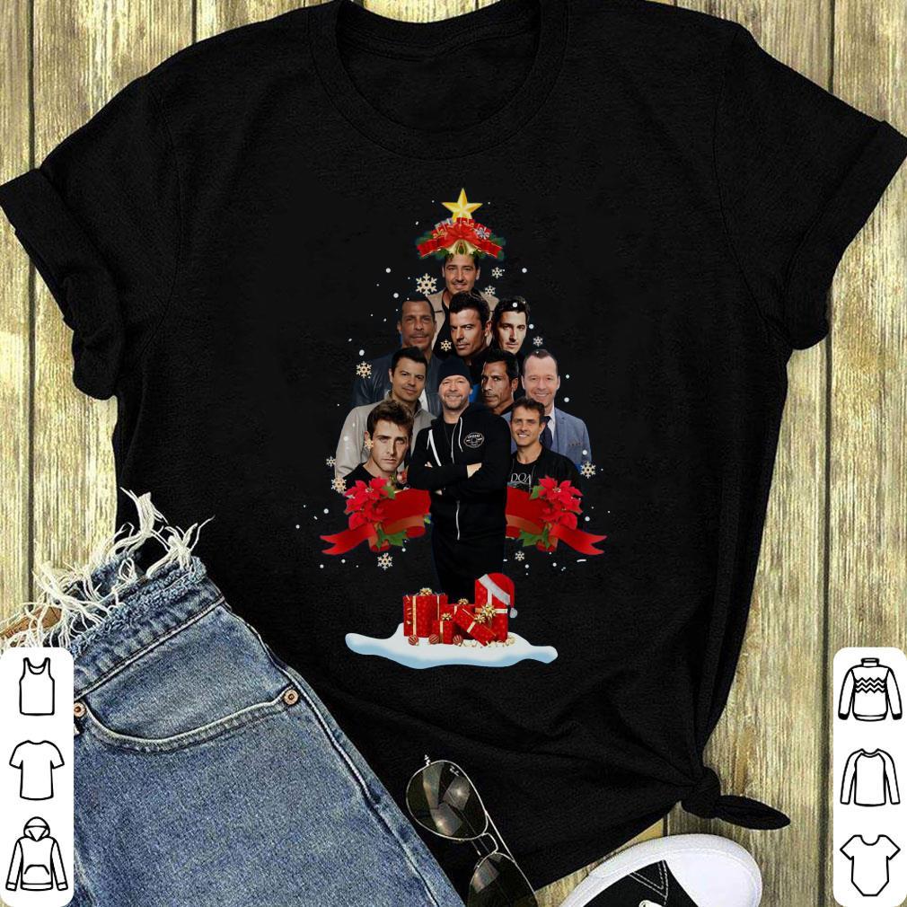 Pretty New Kids On The Block Christmas Tree Shirt 1 1.jpg