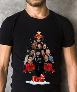 Pretty New Kids On The Block Christmas Tree Shirt 2 1.jpg