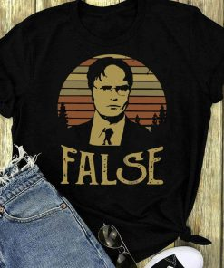 Pretty The Sunset Retro Dwight Schrute False Shirt 1 1.jpg