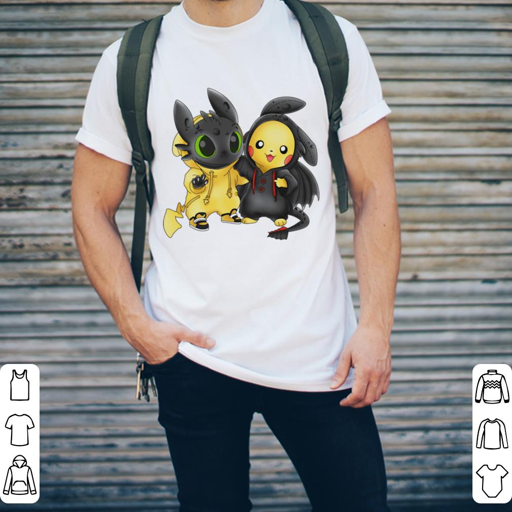 Baby Toothless And Pikachu Shirt 2 1.jpg
