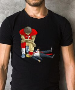 Colin Kaepernick Take A Knee On Mouth Trump Shirt 2 1.jpg