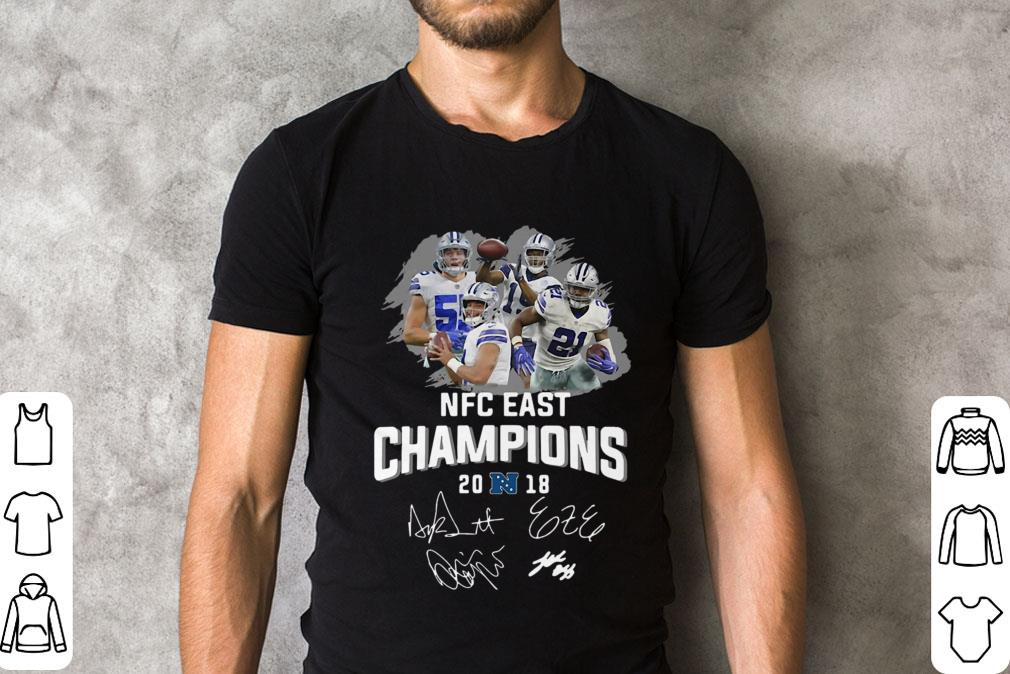 1e37f04b7 Dallas Cowboys Players Nfc East Champions 2018 Signature Shirt 2 1.jpg