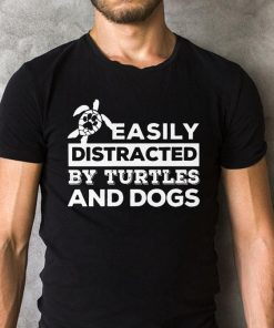Easily Distracted By Turtles And Dogs Paw Shirt 2 1.jpg