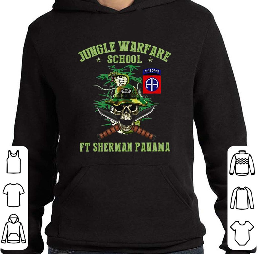 Official Jotc Airborne Jungle Warfare School Ft Sherman Panama Shirt - Kutee Boutique-2756