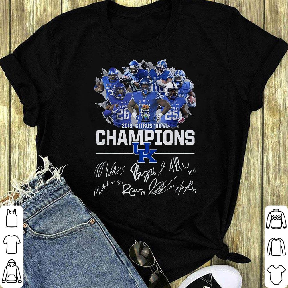 Kentucky Wildcats 2019 Citrus Bowl Champions Signature Shirt 1 1.jpg