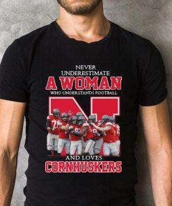 Never Underestimate A Woman Who Understands Football Cornhuskers Shirt 2 1.jpg
