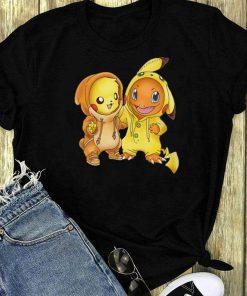 Pokemon Baby Pikachu And Hitokage Shirt 1 1.jpg