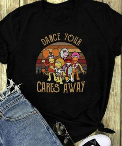 Sunset Fraggle Rock Dance Your Cares Away Shirt 1 2 1.jpg