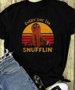 Sunset Retro Every Day I M Snufflin Shirt 1 1.jpg