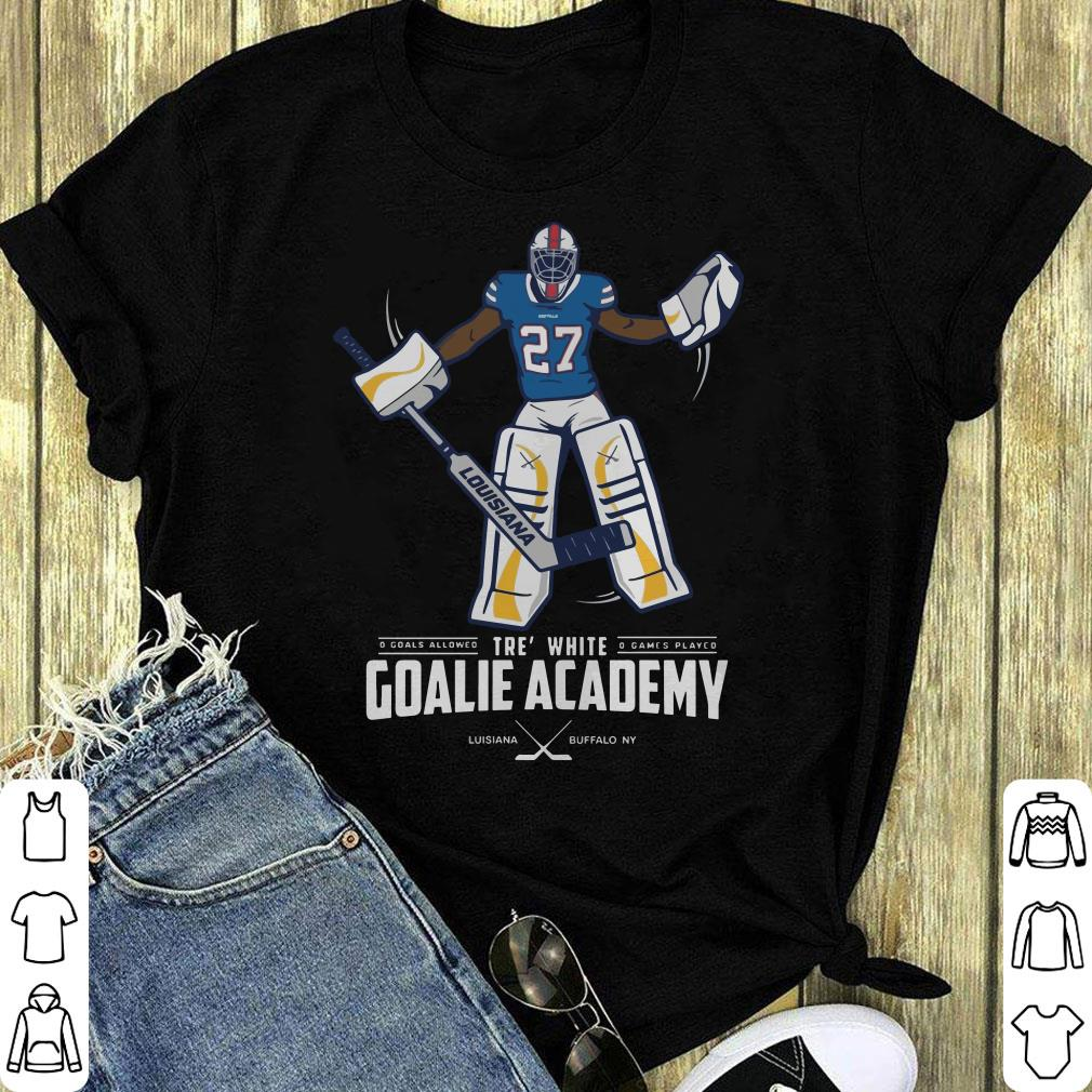 fe0e69c20e5 Official Tre  white goalie academy shirt
