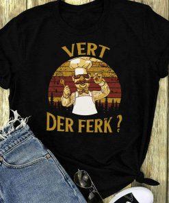 Vert Der Ferk Chef Knife Sunset Retro Style Shirt 1 1.jpg