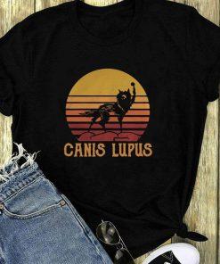Wolf Canis Lupus Sunset Retro Shirt 1 1.jpg