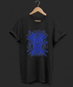 1973 US Tour Vintage Airship shirt 1 1 247x296 - 1973 US Tour Vintage Airship shirt