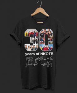 30 years of NKOTB signatures shirt 1 1 247x296 - Official 30 years of NKOTB signatures shirt