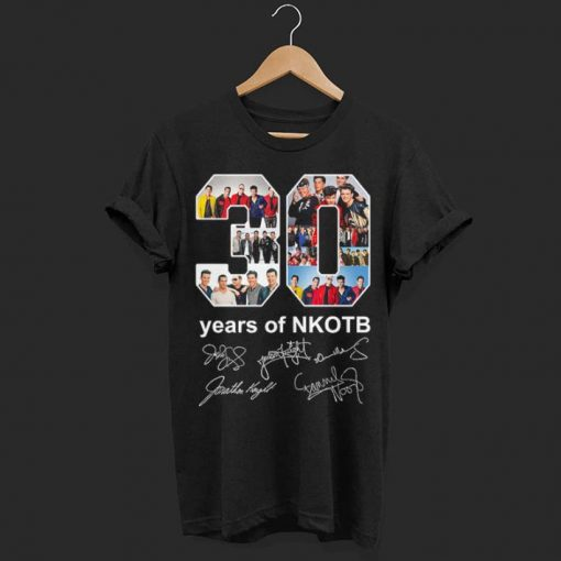 30 years of NKOTB signatures shirt 1 1 510x510 - Official 30 years of NKOTB signatures shirt