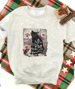 A little back cat goes with everything shirt 1 1 247x296 - A little back cat goes with everything shirt